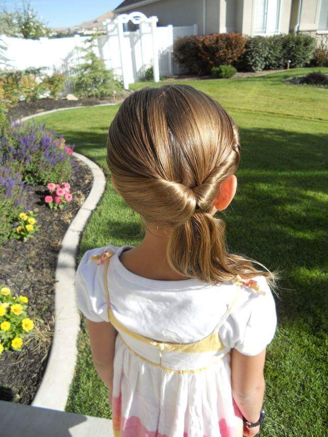 penteados de festa menina