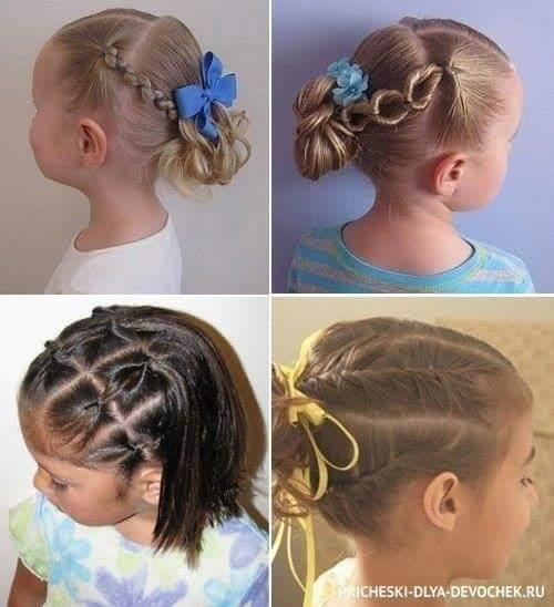penteados de festa para menina