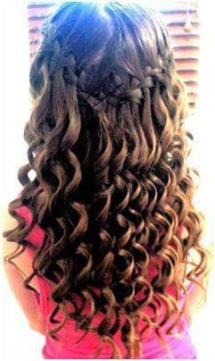 penteados de menina festa