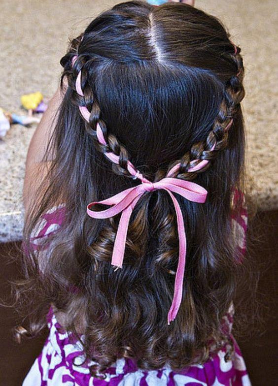 penteados festa junina crianca