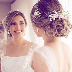 penteados noivas lindos