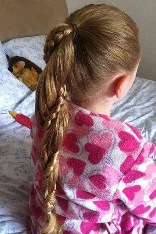 penteados para festa para menina
