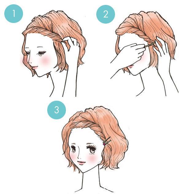 penteados rapidos