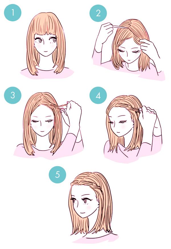 penteados super rapidos