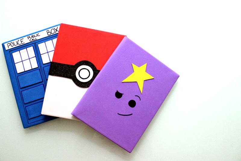 personalizar caderno capas tematicas
