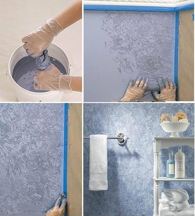 pintar paredes com plástico