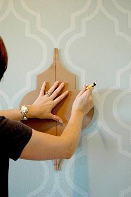 pintar paredes efeito arco