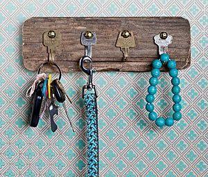 porta chaves diy 2