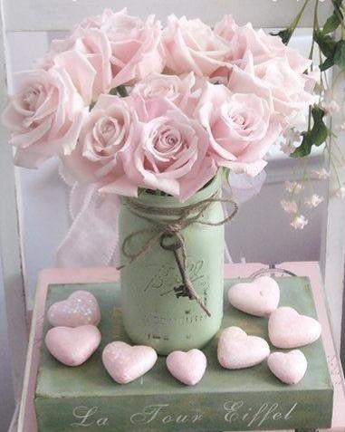 pote vidro dia namorados decoracao flores