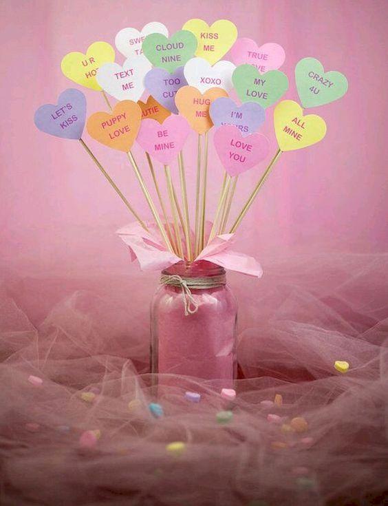 pote vidro dia namorados decoracao mensagens