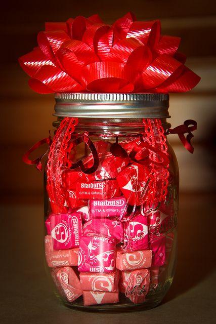 pote vidro dia namorados presente doces