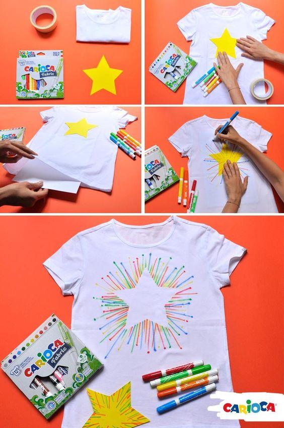 prenda dia maes camiseta estrela