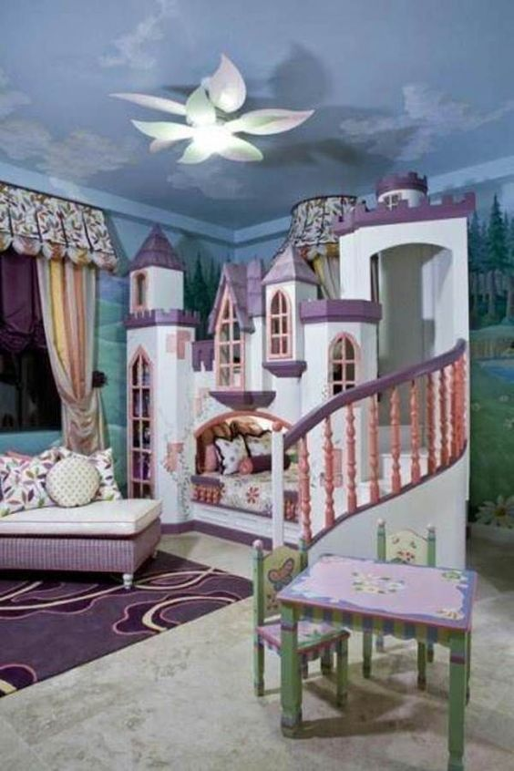 quarto de menina princesa 2