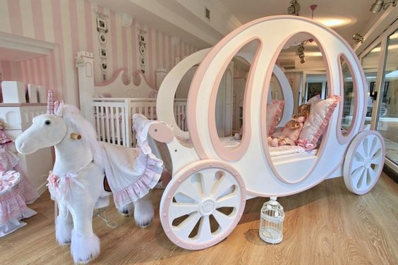 quarto de menina princesa
