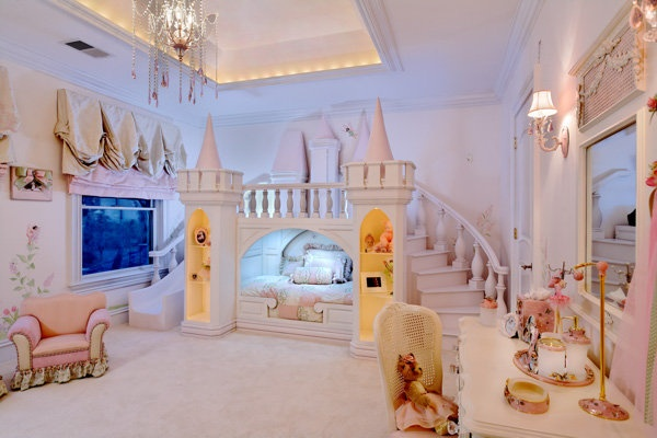 quarto menina castelo