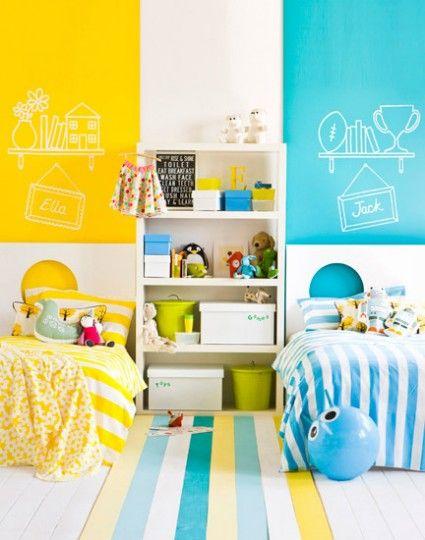 quartos partilhados crianças