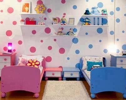 quartos partilhados menino menina