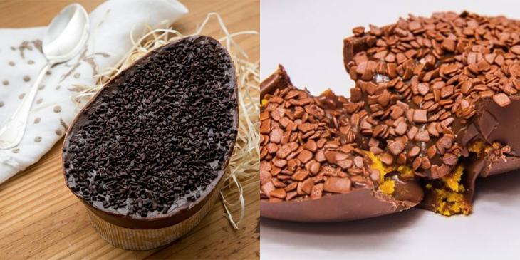 receita ovos chocolate diy