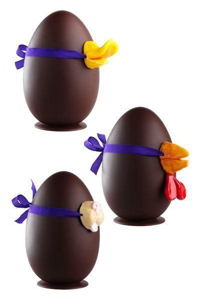 receita ovos de chocolate