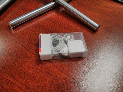 reciclar caixa tic tac fones