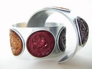 reciclar capsulas cafe bracelete