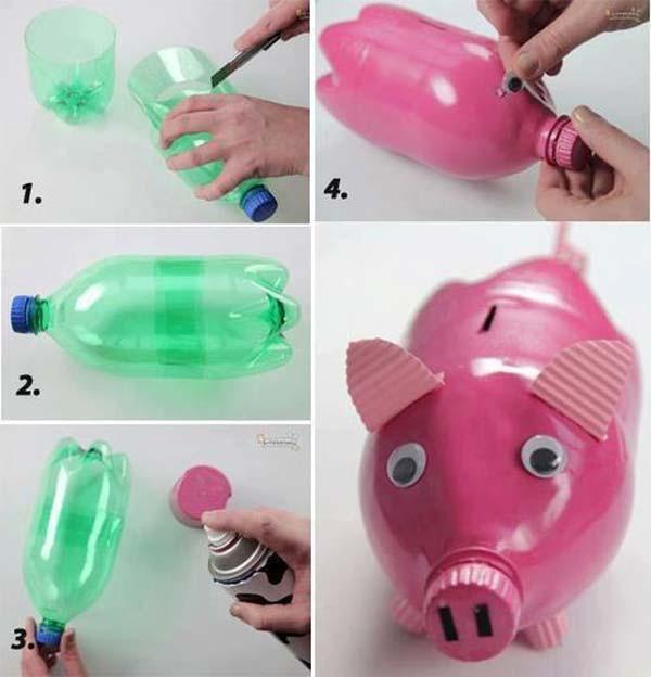 reciclar garrafas mealeiro