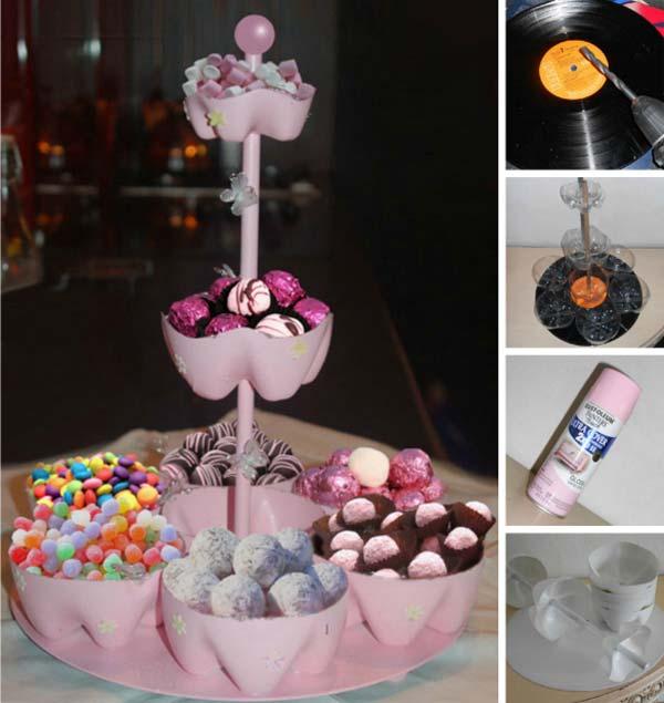 reciclar garrafas pet cupcakes