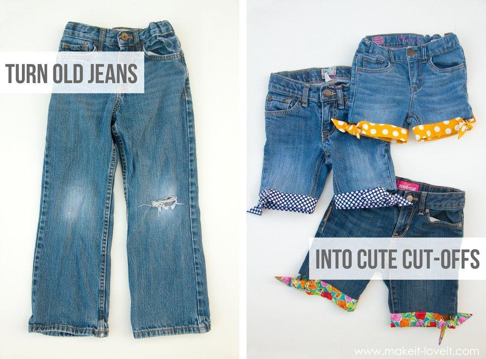 reciclar jeans velhos