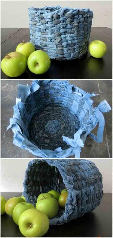 reciclar roupas usadas