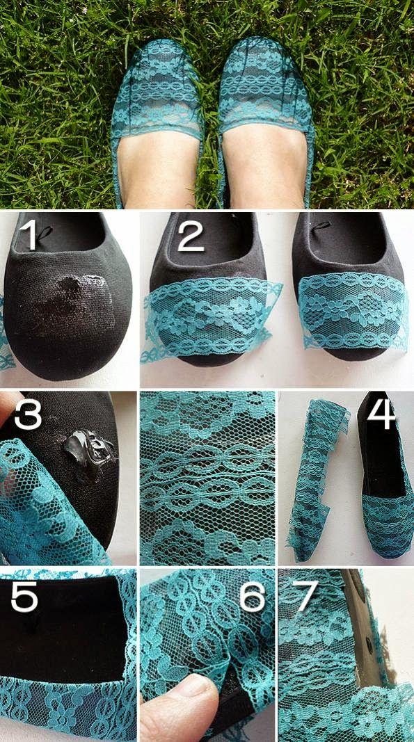 renovar sapatos diy