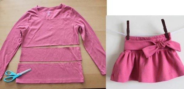 roupa para ciança reutizada