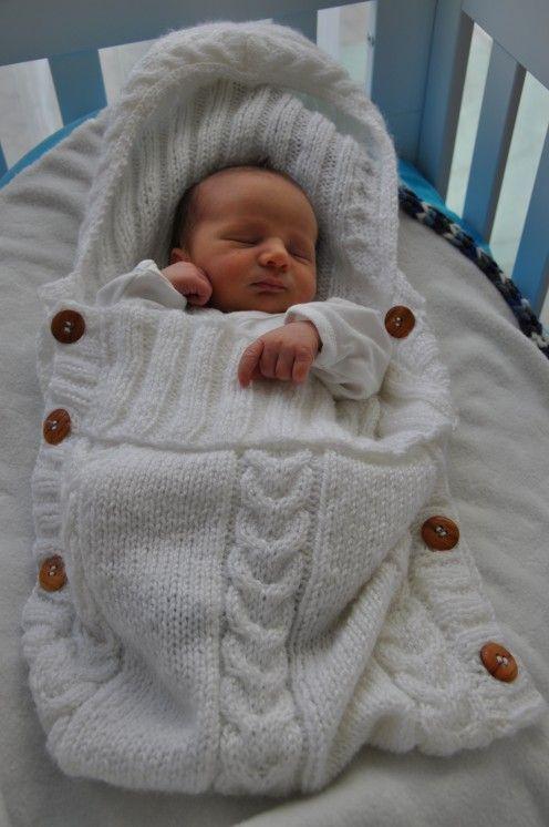 saco dormir bebe croche