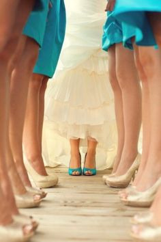 sapatos noivas coloridos
