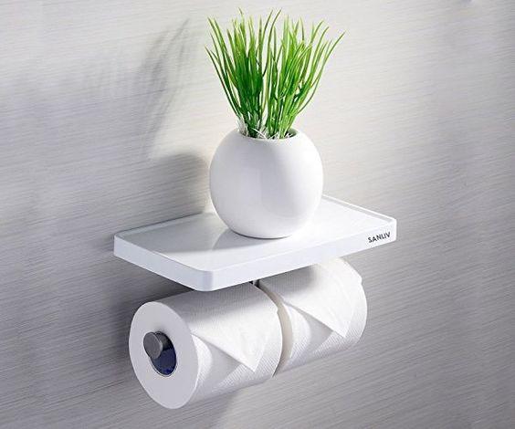 suporte papel higienico