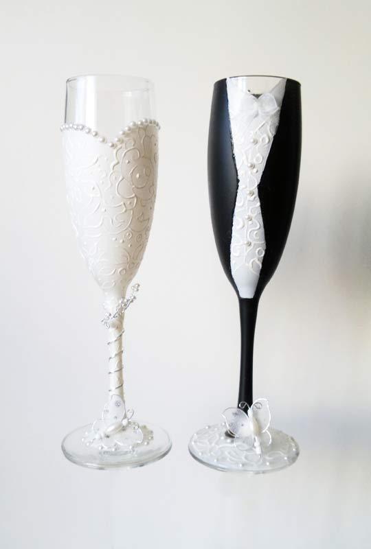 taças brinde casamento
