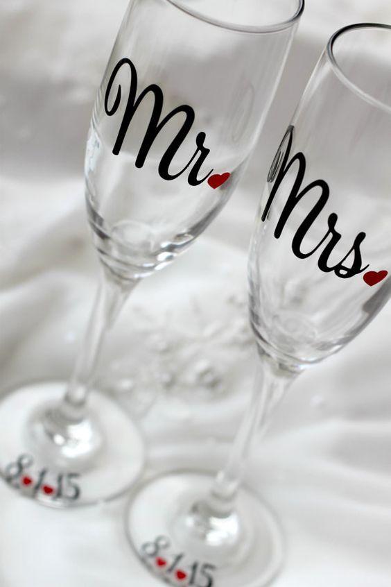 taças para noivos casamento