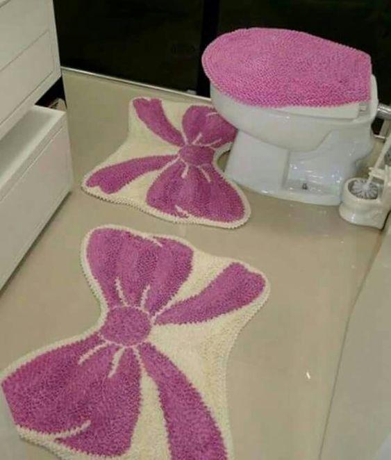 tapete frufru banheiro