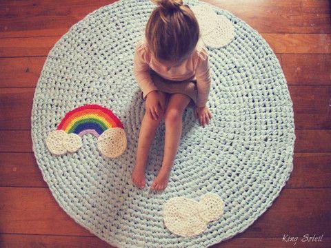 tapetes croche quarto infantil 3