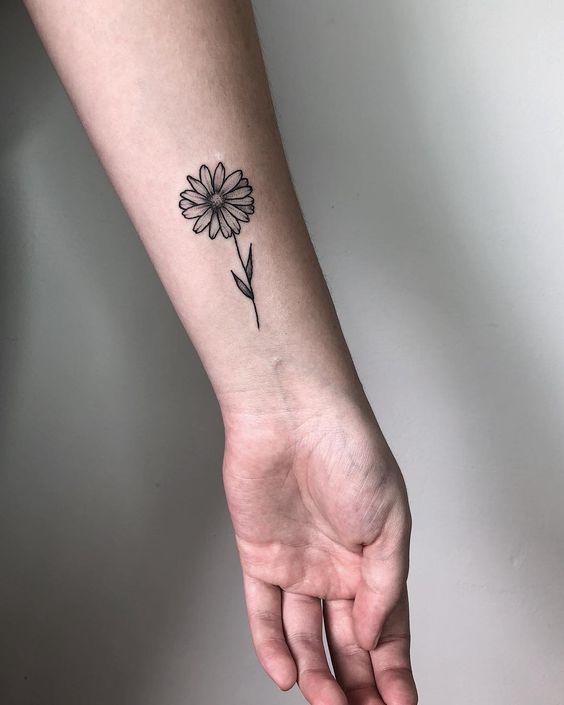 tatauagem feminina pulso simples