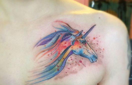 tataugem unicornio 11
