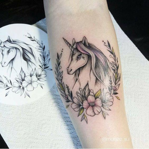 tataugem unicornio 4