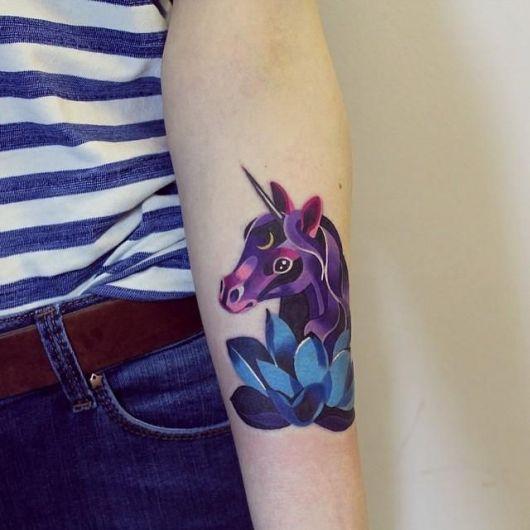 tataugem unicornio 5