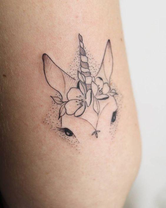 tataugem unicornio 8