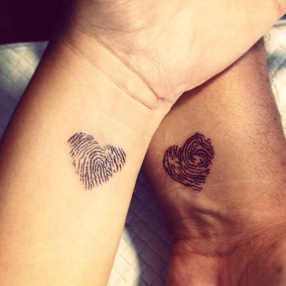tatuagem amor casal