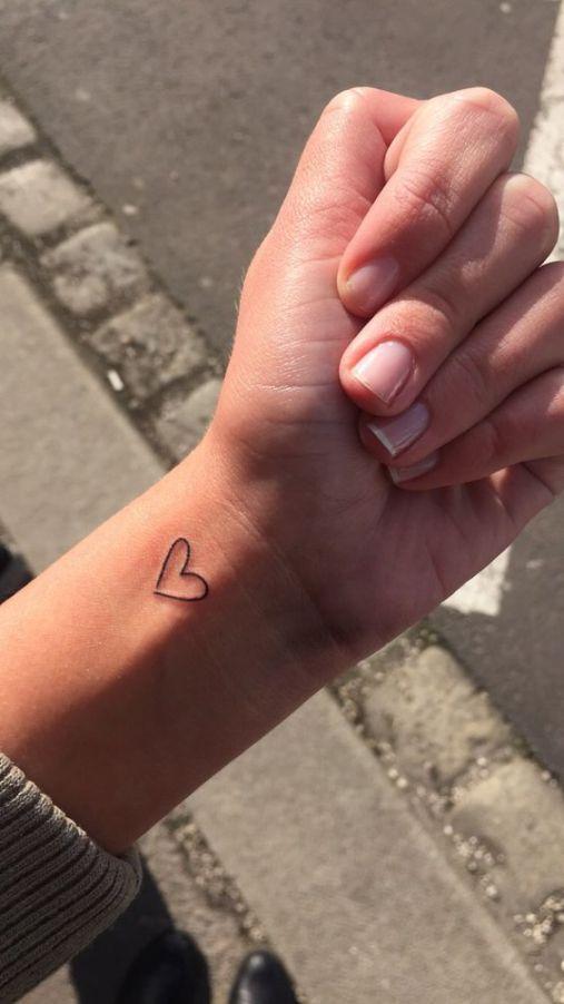 tatuagem amor delicada coracao 1