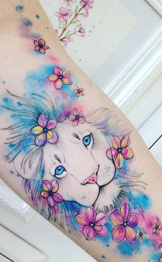 tatuagem aquarela ideias 1
