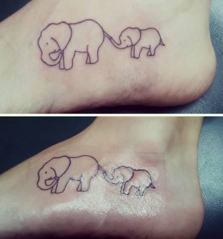 tatuagem mae filha 4