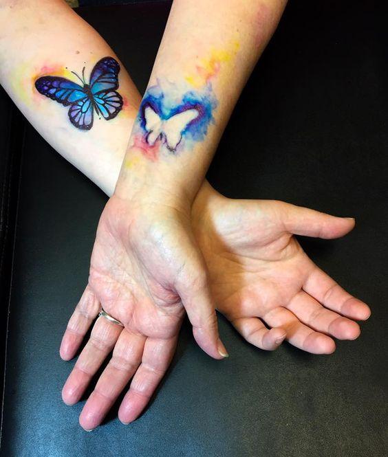 tatuagem mae filha