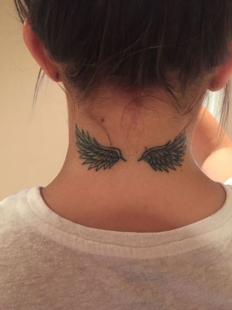 tatuagem nuca