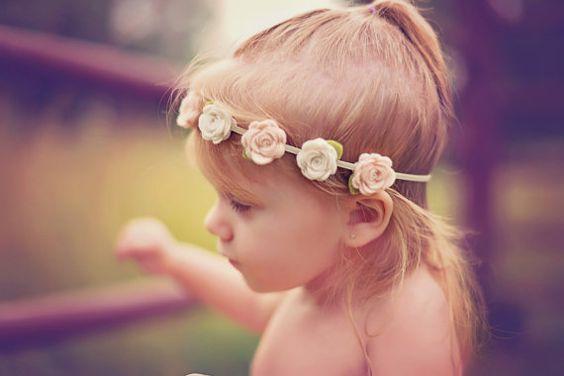 tiara flor tecido bebe 1